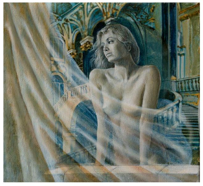 Dipinto di nudo femminile